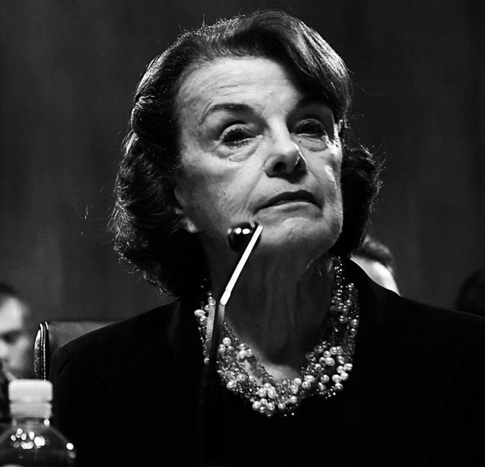 Senator Dianne Feinstein's Self-Deification