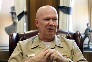 Naval War College President's Steller Performance as a Bureaucrat Lands him a Dream Job in Washington, D.C.